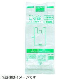 トラスコ中山 TRUSCO レジ袋 12/30号 (380X290mm)半透明 100枚入 TRB12-30-TM