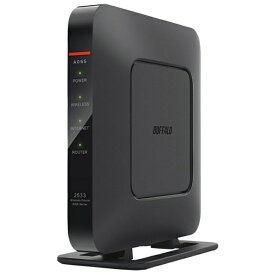 BUFFALO バッファロー WSR-2533DHPL-C wifiルーター 1733+800Mbps ブラック [ac/n/a/g/b][無線LAN ルーター WSR2533DHPLC]