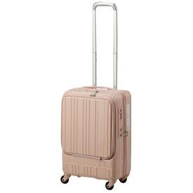 東急ハンズ TOKYU HANDS スーツケース フロントオープンタイプ 35L hands+(ハンズプラス)newライト ピンク 18H+TT004-PK [TSAロック搭載]
