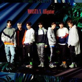 ユニバーサルミュージック MONSTA X/ Alligator 通常初回プレス盤【CD】