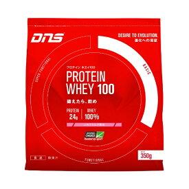 DNS ホエイプロテイン PROTEIN WHEY100(ストロベリー風味/350g)
