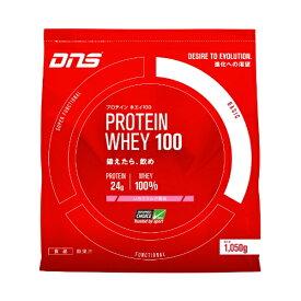 DNS ホエイプロテイン PROTEIN WHEY100(ストロベリー風味/1050g)