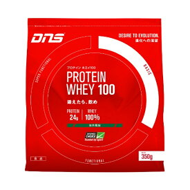 DNS ホエイプロテイン PROTEIN WHEY100(抹茶風味/350g)