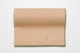 ヨガワークス YOGA WORKS ワッフルヨガラグ(ヌードピーチ/約173cm×61cm)YW-A160-C094 YW-A160-C094