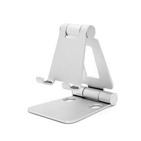 ARCHISS アーキス スマホスタンド 折りたたみ 持ち運び便利 自由な角度 小型/軽量 シルバー AS-MWBM-SL