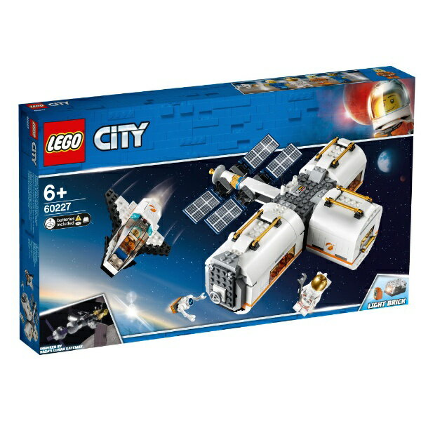 【2019年06月07日発売】 レゴジャパン LEGO 60227 シティ 変形自在!光る宇宙ステーション