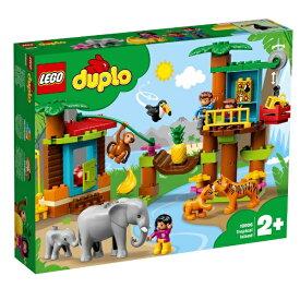 レゴジャパン LEGO 10906 デュプロ 世界のどうぶつ ジャングル探検