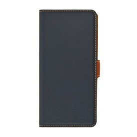 ラスタバナナ RastaBanana ZenFone Max Pro(M2)(ZB631KL)薄型手帳ケース サイドマグネット 4851631KLBO ネイビー×ブラウン