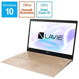 NEC エヌイーシー PC-PM550NAG ノートパソコン LAVIE Pro Mobile フレアゴールド [13.3型 /intel Core i5 /SSD:256GB /メモリ:8GB /2019年5月モデル][13.3インチ office付き 新品 windows10 PCPM550NAG]