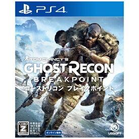 ユービーアイソフト Ubisoft ゴーストリコン ブレイクポイント 通常版【PS4】