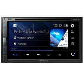 パイオニア PIONEER カロッツェリア(パイオニア) カーオーディオ AppleCarPlay AndroidAuto対応 2DIN CD/DVD/USB/Bluetooth FH-8500DVS[FH8500DVS]