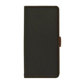 ラスタバナナ RastaBanana ZenFone Max (M2)(ZB633KL) 薄型手帳ケース サイドマグネット 4853633KLBO ネイビー×ブラウン