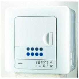 東芝 TOSHIBA ED-458-W 衣類乾燥機 ピュアホワイト [乾燥容量4.5kg][4.5キロ ED458W]