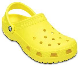 クロックス Crocs 25.0cm 男女兼用 フットウェア Classic Clog(M7/W9/Lemon)#10001