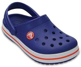 クロックス Crocs 18.5cm 子供用 サンダル ボーイズ フットウェア Kids`Crocband Clog(C12/Cerulean Blue)#204537
