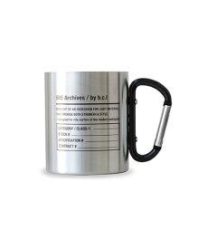 bcl ビーシーエル bclオリジナル ステンレスカラビナマグ 585(シルバー×ブラック/W11×D7.5×H9cm) 127958