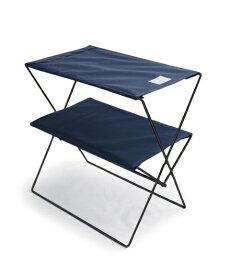 bcl ビーシーエル bclオリジナル フォールディングテーブル(ネイビー/W50×D30×H55cm) 127969
