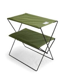 bcl ビーシーエル bclオリジナル フォールディングテーブル(オリーブ/W50×D30×H55cm) 127971 [1〜2人向け]