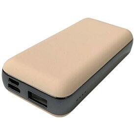 コンピューケースジャパン COMPUCASE JAPAN JMB-F65P-PN モバイルバッテリー agreen ピンク [6500mAh /2ポート /充電タイプ]