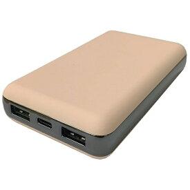 コンピューケースジャパン COMPUCASE JAPAN モバイルバッテリー agreen ピンク JMB-F100PD-PN [10000mAh /3ポート /充電タイプ]