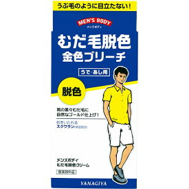 柳屋本店 yanagiya メンズボディ むだ毛脱色クリーム N 40g+80g【rb_pcp】