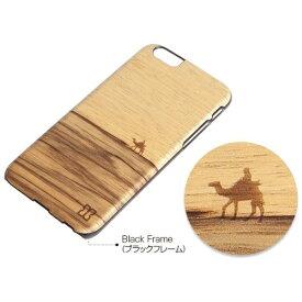 ROA ロア iPhone6 Plus 天然木ケース Terra ブラックフレーム