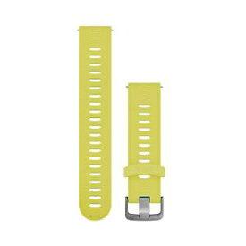 GARMIN ガーミン Quick Release バンド 20mm Sports Amp Yellow シリコン 010-11251-2H