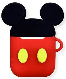 グルマンディーズ gourmandise ディズニーキャラクター AirPodsシリコンケース ミッキーマウス