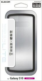 エレコム ELECOM Galaxy S10 TOUGH SLIM LITE クリア PM-GS10TSLCR