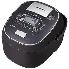 東芝 TOSHIBA 【ビックカメラグループオリジナル】RC-BK10VRN-K 炊飯器 グランブラック [5.5合 /IH][RCBK10VRNK]