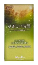 日本香堂 Nippon Kodo やさしい時間 すがすがしい森の香り バラ詰[線香]
