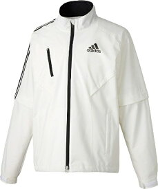 アディダス adidas climaproof レインスーツ メンズ Oサイズ (ホワイト/ブラック)CCM41