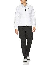 アディダス adidas climastorm レインスーツ PF メンズ Oサイズ(ホワイト/ブラック )FVE32