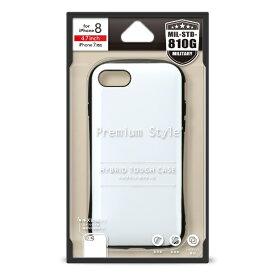 PGA iPhone 8/7用 ハイブリットタフケース PG-17MPT12WH ホワイト