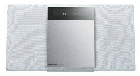 パナソニック Panasonic 【ワイドFM対応】Bluetooth対応 ミニコンポ(ホワイト) SC-HC410-W ホワイト [ワイドFM対応 /Bluetooth対応][CDコンポ 高音質 SCHC410W]