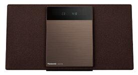 パナソニック Panasonic ミニコンポ SC-HC410-T ブラウン [ワイドFM対応 /Bluetooth対応][CDコンポ 高音質 SCHC410T]