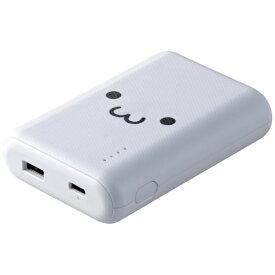 エレコム ELECOM DE-C16L-10050WF モバイルバッテリー ホワイトフェイス [10050mAh /1ポート /充電タイプ]