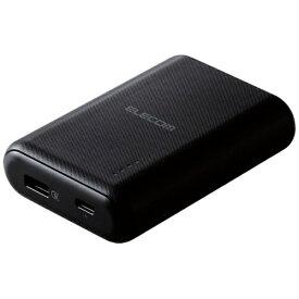 エレコム ELECOM DE-C14L-10050BK モバイルバッテリー ブラック [10050mAh /1ポート /充電タイプ]