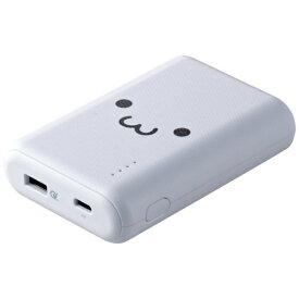 エレコム ELECOM DE-C14L-10050WF モバイルバッテリー ホワイトフェイス [10050mAh /1ポート /充電タイプ]