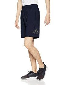 アディダス adidas トレーニングウェア MUSTHAVES BADGE OF SPORTS ライトウーブンショーツ メンズ Oサイズ ウェスト76.5cm股下23.4cm(レジェンドインク) FTL25