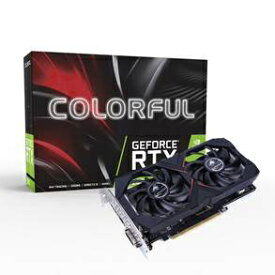 COLORFUL Colorful GeForce RTX 2060 6G V2 Colorful GeForce RTX 2060 6G V2 [6GB /GeForceシリーズ]【バルク品】 [RTX20606GV2]