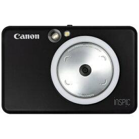 キヤノン CANON インスタントカメラプリンター iNSPiC ZV-123-MBK マットブラック[ZV123MBK]