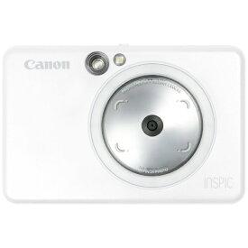 キヤノン CANON インスタントカメラプリンター iNSPiC ZV-123-PW パールホワイト[ZV123PW]