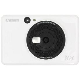 キヤノン CANON インスタントカメラプリンター iNSPiC CV-123-WH ホワイト[CV123WH]