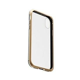 AREA エアリア 両面ガラスとバンパーでフル保護 360STRONG iPhone XS/Xケース ゴールド・ブラック