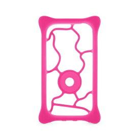 AREA エアリア Bone Collection マルチソフトバンパーケース 5.0インチ〜6.4インチサイズ対応 UN17301-PK ピンク