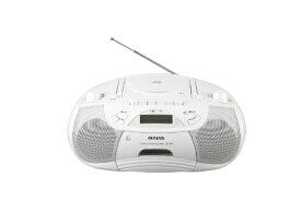aiwa アイワ 【ビックカメラグループオリジナル】CSD-B50W ラジカセ aiwa ホワイト [Bluetooth対応 /ワイドFM対応 /CDラジカセ][CSDB50]【point_rb】