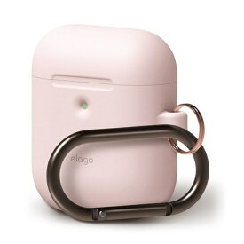 ELAGO エラゴ elago AIRPODS HANG CASE for AirPods 2nd Generation Wireless Charging Case for AirPods 2nd Wireless (Lovely Pink) EL_A2WCSSCHW_LP