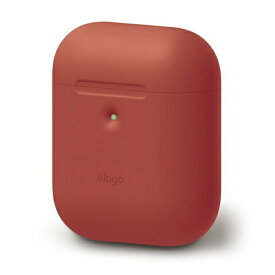 ELAGO エラゴ elago AIRPODS CASE for AirPods 2nd Generation Wireless Charging Case for AirPods 2nd Wireless (Red) EL_A2WCSSCAW_RD