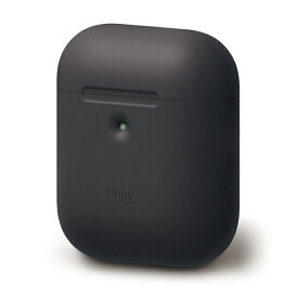 ELAGO エラゴ elago AIRPODS CASE for AirPods 2nd Generation Wireless Charging Case for AirPods 2nd Wireless (Black) EL_A2WCSSCAW_BK